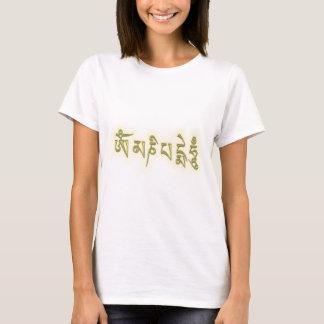 T-shirt Bourdonnement de l'OM Mani Padme