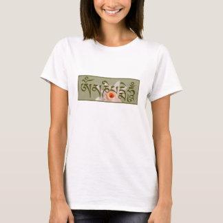 T-shirt Bourdonnement de l'OM Mani Padme - vert