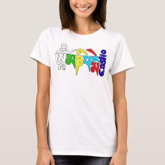 T-shirt bourdonnement de padme de l'OM mani