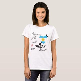 T-shirt Bourreau des coeurs argentin
