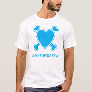 T-shirt Bourreau des coeurs (bleu)