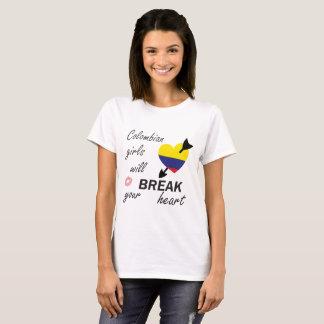 T-shirt Bourreau des coeurs colombien