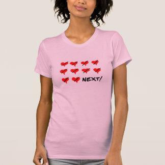 T-shirt Bourreau des coeurs prochain Femme Fatale