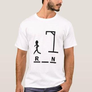 T-shirt Bourreau idiot