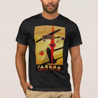 T-shirt Boussole d'art déco de Sabena