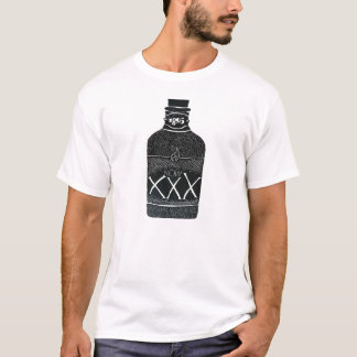 T-shirt Bouteille d'alcool