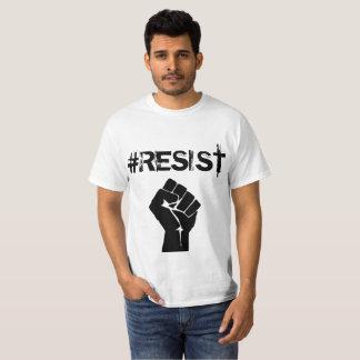 """T-shirt Bouton politique de """"Anti-Atout"""" de #Resist"""