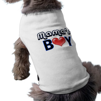T-shirt Boy Dog Shirt de maman