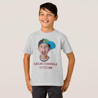 T-shirt Brantique sur la chemise officielle de YouTube