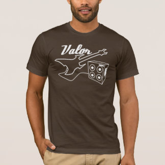 T-shirt Bravoure - la guitare et l'ampère