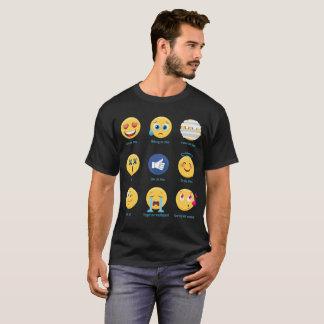 T-shirt Brazillian Jiu-jitsu 9 émoticônes des nuances BJJ