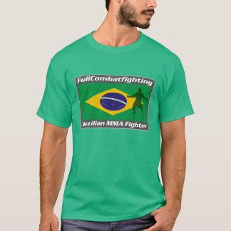 T-shirt brésilien de combattant de MIXED MARTIAL