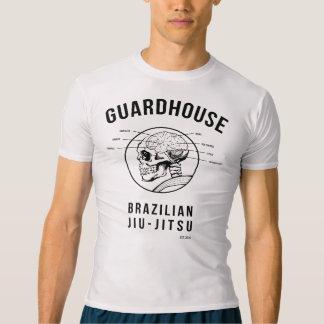 T-shirt Brésilien Jiu-Jitsu - anatomie de corps de garde