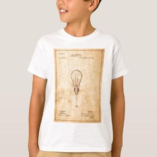 T-shirt Brevet d'ampoule d'Edison