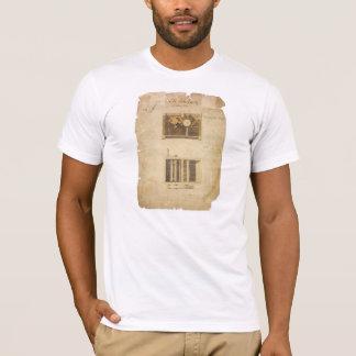 T-shirt Brevet d'Eli Whitney pour le genièvre de coton en