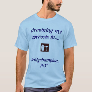T-shirt Bridgehampton, CHEMISE POTABLE de NY !