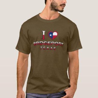 T-shirt Bridgeport, le Texas