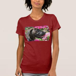 T-shirt Brindle de chiot de mastiff
