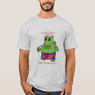 T-shirt britannica de cthulhu