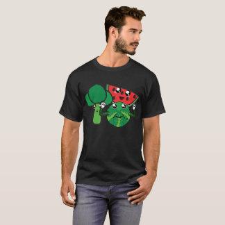 T-shirt Brocoli, pastèque et chou de bruxelles