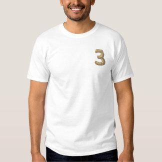 T-shirt Brodé Alphabet en bois 3