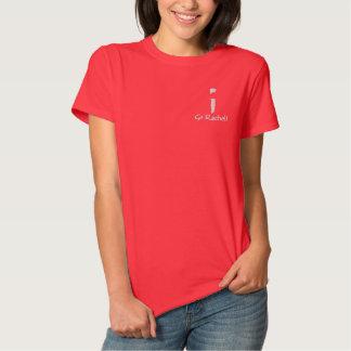 T-shirt Brodé Avant et dos de Rachel - vont Rachel