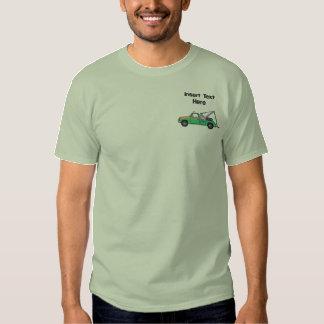T-shirt Brodé Chemise brodée par dépanneuse faite sur commande