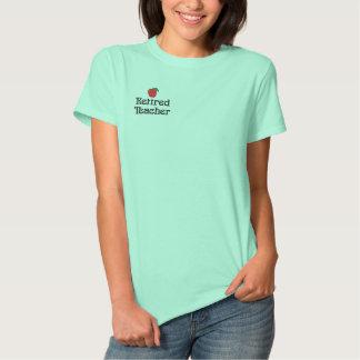 T-shirt Brodé Chemise brodée par professeur retirée