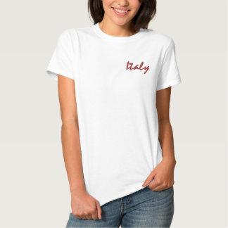 T-shirt Brodé Chemise de l'Italie