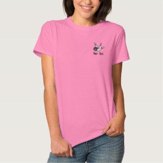 T-shirt Brodé Chemise de roulement personnalisée