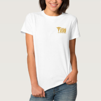 T-shirt Brodé Chemise Médecine UNIPAC XXII - Brodée