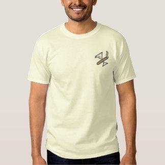 T-shirt Brodé Cigare/logo de martini