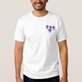 T-shirt Brodé Ciseaux et Paperdolls