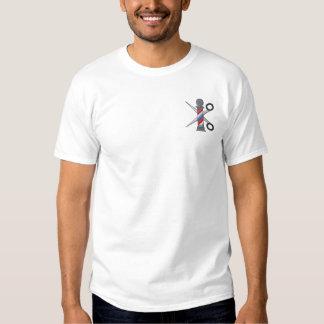 T-shirt Brodé Coiffeur