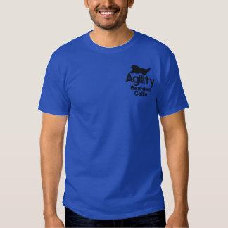 T-shirt Brodé Colley barbu d'agilité
