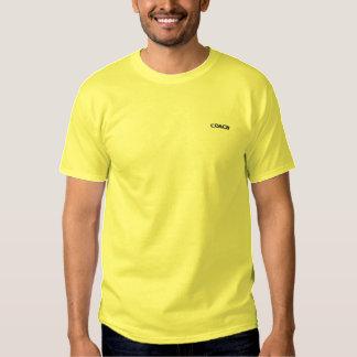 T-shirt Brodé Conception de nom d'entraîneur