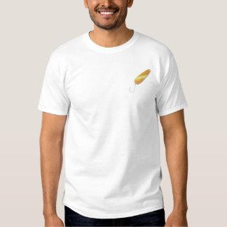 T-shirt Brodé Cuillère saumonée
