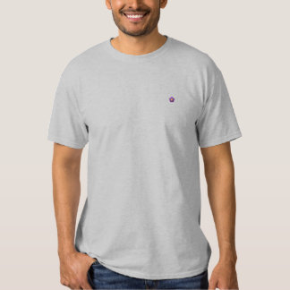 T-shirt Brodé Dessus de fleur