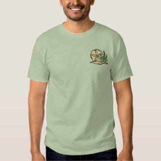 T-shirt Brodé Dollar de sable