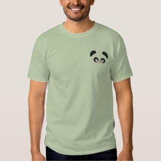 T-shirt Brodé Douille de Panda® d'amour longue