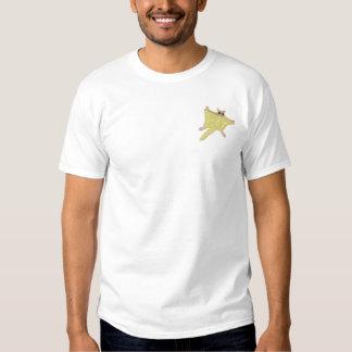T-shirt Brodé Écureuil de vol