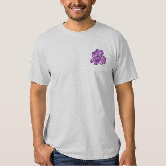 T-shirt Brodé Fleur de magnolia