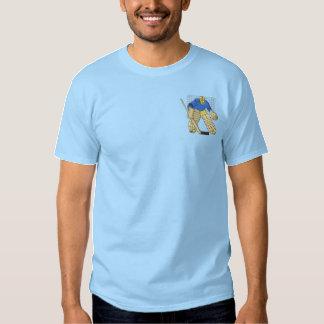 T-shirt Brodé Gardien de but