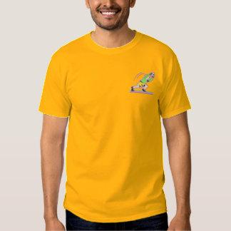 T-shirt Brodé Gardien de but du football