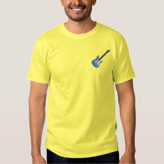 T-shirt Brodé Guitare électrique