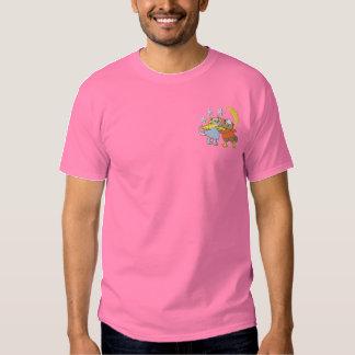 T-shirt Brodé Hibou et minou