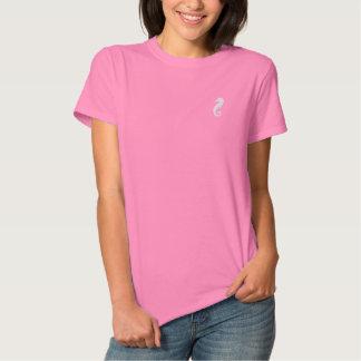 T-shirt Brodé Hippocampe géant
