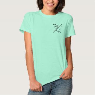 T-shirt Brodé Je pêche