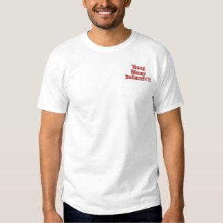 T-shirt Brodé Jeune argent Ballers ! ! ! ! !