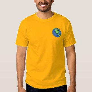 T-shirt Brodé La terre